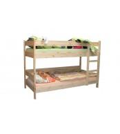Patrová postel 90 x 200, masiv smrk - B481