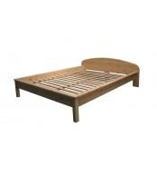 Manželská postel 180 x 200, masiv smrk - B493