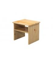 Noční stolek, masiv smrk - B711