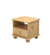 Noční stolek, masiv smrk - B818
