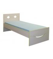 Dětská postel 90 x 200, usměvavá CASPER - C108