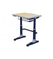 Psací stůl, Školní lavice, výškově stavitelná, LAVICE, KTERÁ ROSTE S DĚTMI - C301