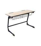 Psací stůl, Školní lavice, pevná velká, VHODNÉ PRO ZAŘÍZENÍ ŠKOL - C306