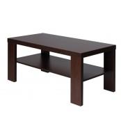 Konferenční stolek ZBYNĚK, obdélník, police - K117
