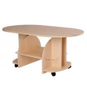 Konferenční stolek VÍT, oválný - K12