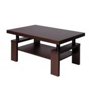 Konferenční stolek RICHARD, obdélník, police - K121