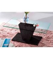 Konferenční stolek designový, MDF a sklo - K93 NOVINKA