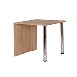 Jídelní stůl KRYŠTOF 80x80, nohy chrom - S136-80
