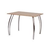 Jídelní stůl DAKO II 80x100, nohy chrom - S146