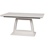 Jídelní stůl DENIS, rozkládací 150/200x90, MDF lesk - S92