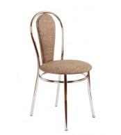 Jídelní židle PAVLA, chromovaná - Z84