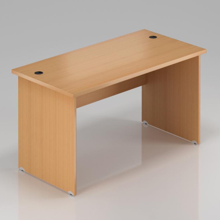 Kancelářský stůl Komfort, dřevěná podnož, 180x70x76 cm - BKA180 11