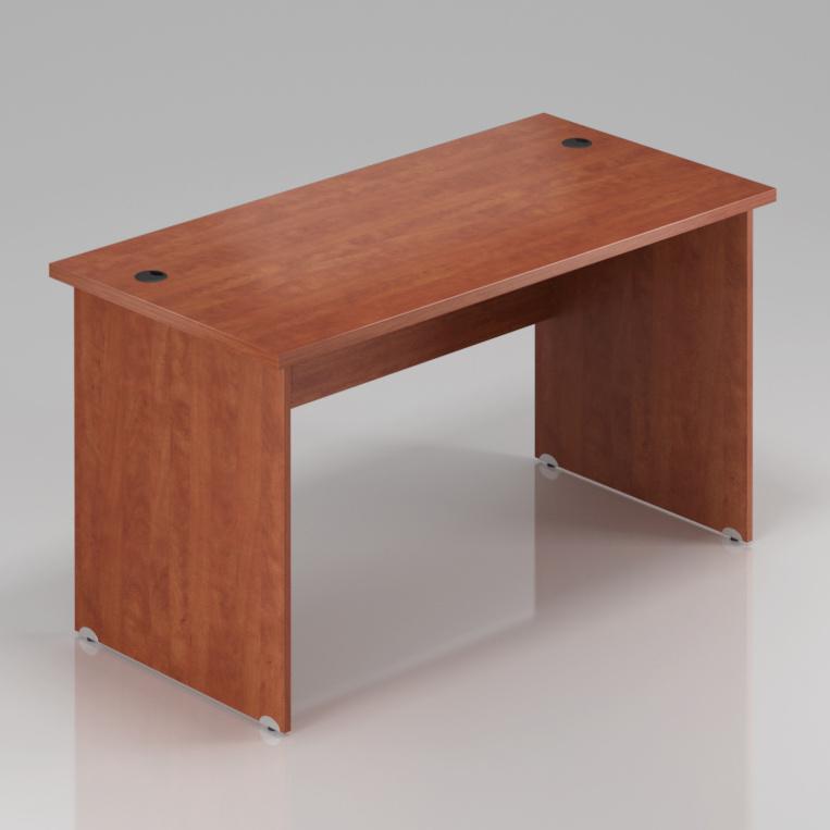 Kancelářský stůl Komfort, dřevěná podnož, 180x70x76 cm - BKA180 03