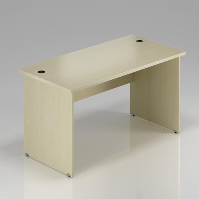 Kancelářský stůl Komfort, dřevěná podnož, 180x70x76 cm - BKA180 12