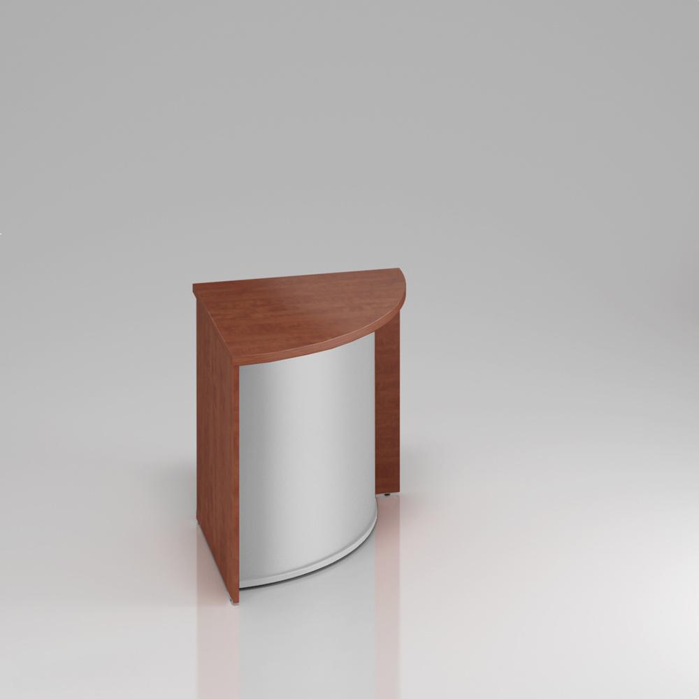 Recepční rohový pult Komfort, 70x70x76 cm - LKA90 03