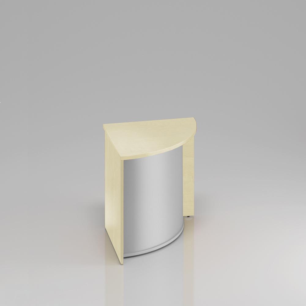 Recepční rohový pult Komfort, 70x70x76 cm - LKA90 12