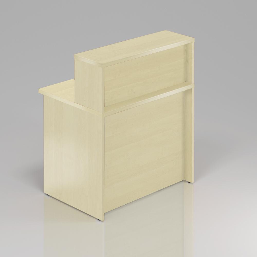Recepční pult s nástavbou Komfort, 80x70x111 cm - NLKA08 12