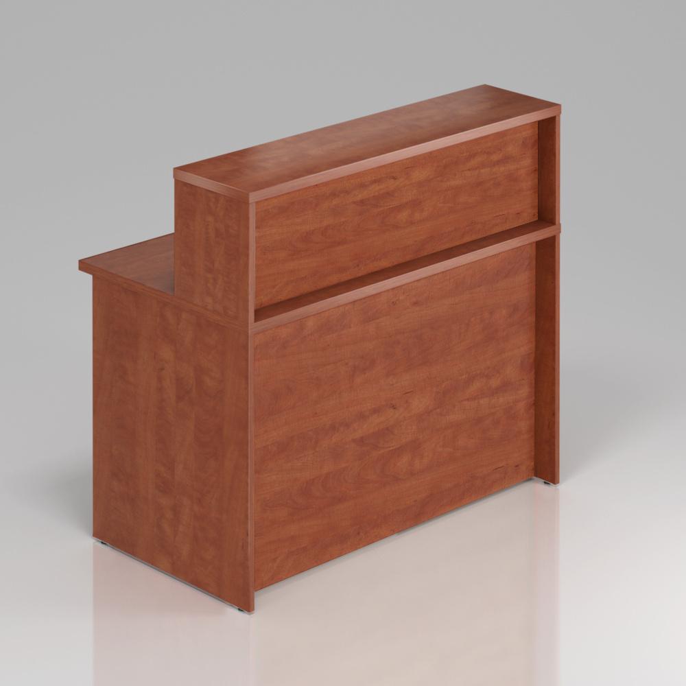 Recepční pult s nástavbou Komfort, 120x70x111 cm - NLKA12 03