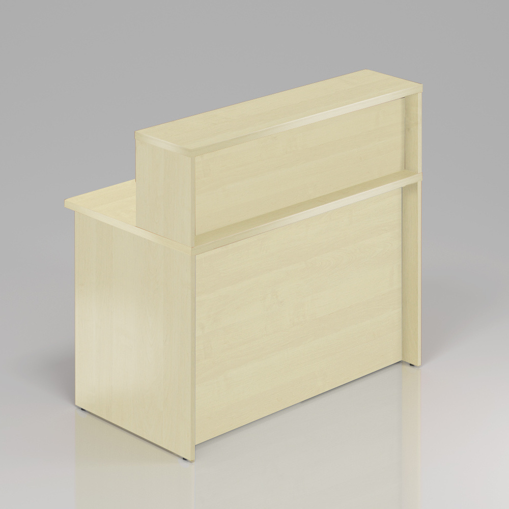 Recepční pult s nástavbou Komfort, 120x70x111 cm - NLKA12 12