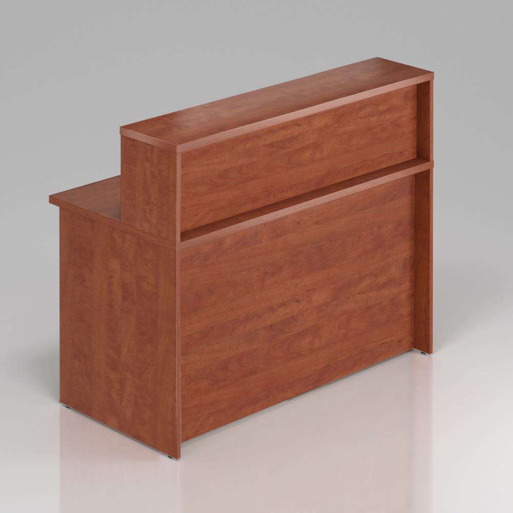 Recepční pult s nástavbou Komfort, 136x70x111 cm - NLKA13 03