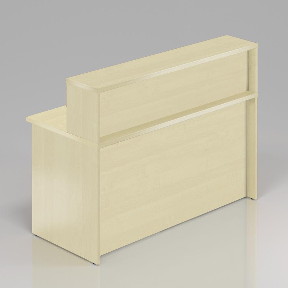 Recepční pult s nástavbou Komfort, 136x70x111 cm - NLKA13 12
