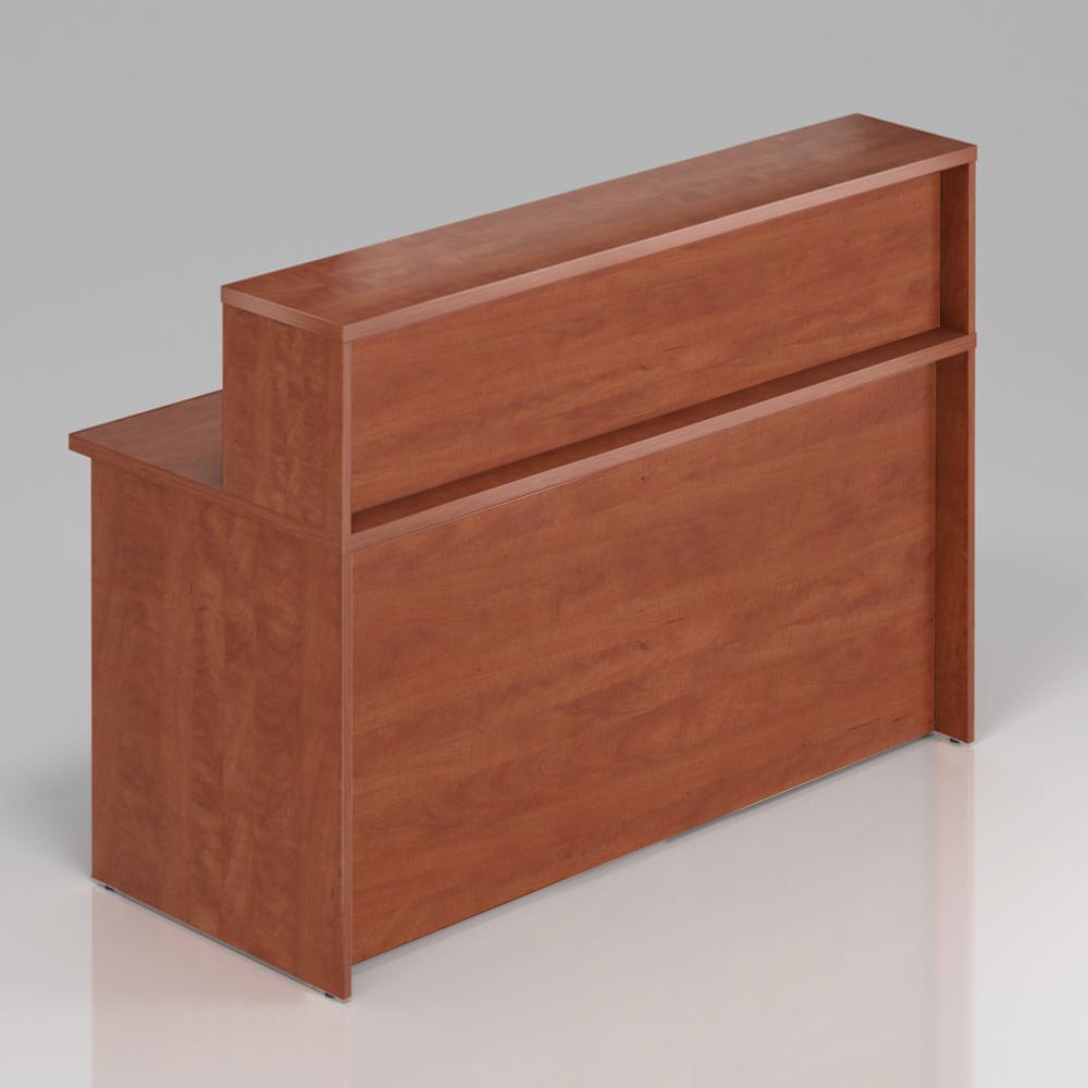 Recepční pult s nástavbou Komfort, 160x70x111 cm - NLKA16 03