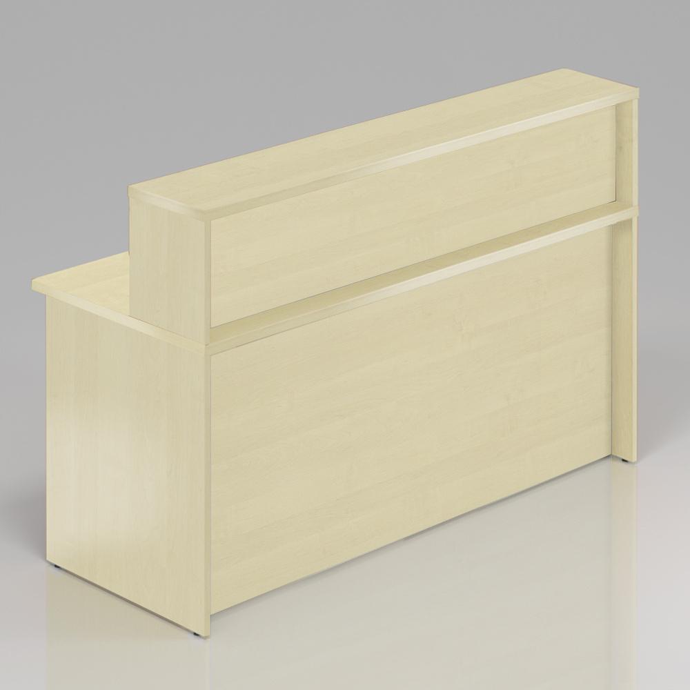 Recepční pult s nástavbou Komfort, 160x70x111 cm - NLKA16 12