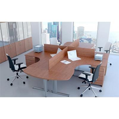Sestava kancelářského nábytku Komfort 3 buk - R111003 11