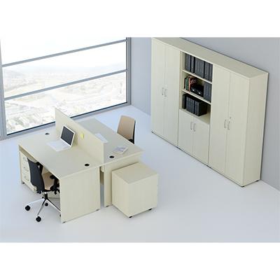 Sestava kancelářského nábytku Komfort 6 calvados - R111006 03