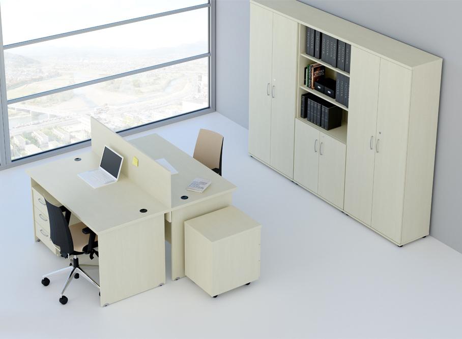 DN Sestava kancelářského nábytku Expres 6 calvados R111006 03