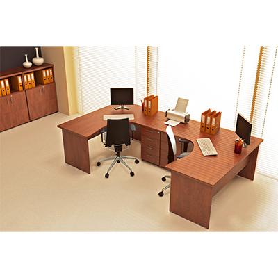 Sestava kancelářského nábytku Komfort 7 buk - R111007 11