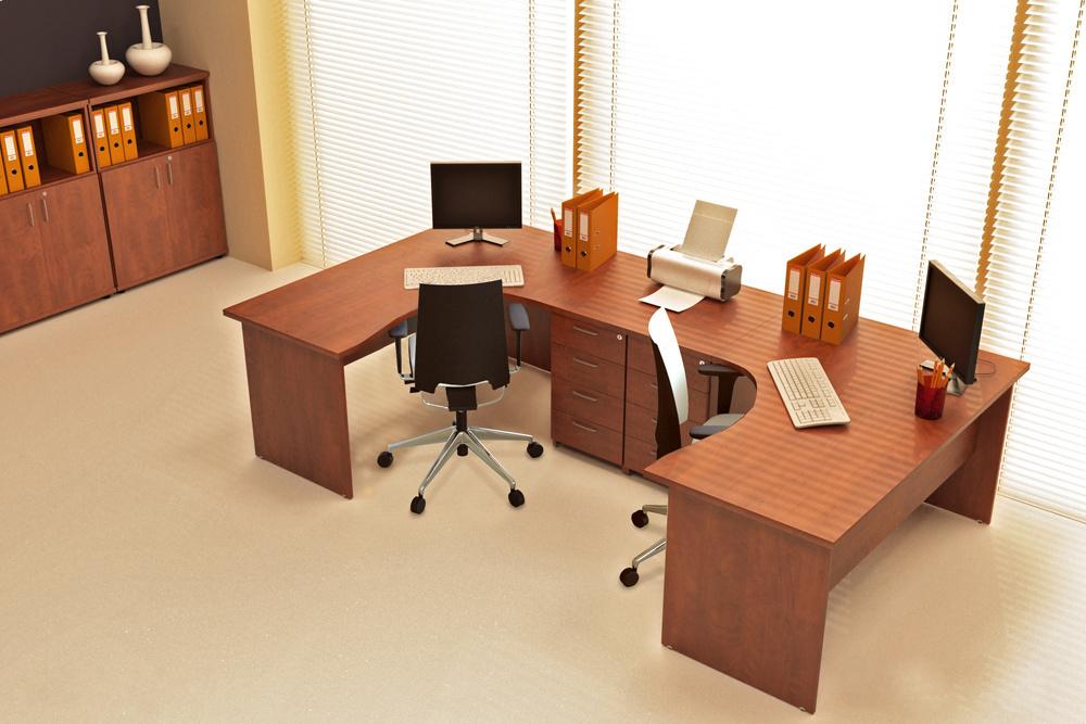 DN Sestava kancelářského nábytku Expres 7 calvados R111007 03
