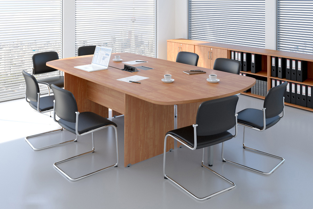 DN Sestava kancelářského nábytku Komfort 8 calvados R111008 03