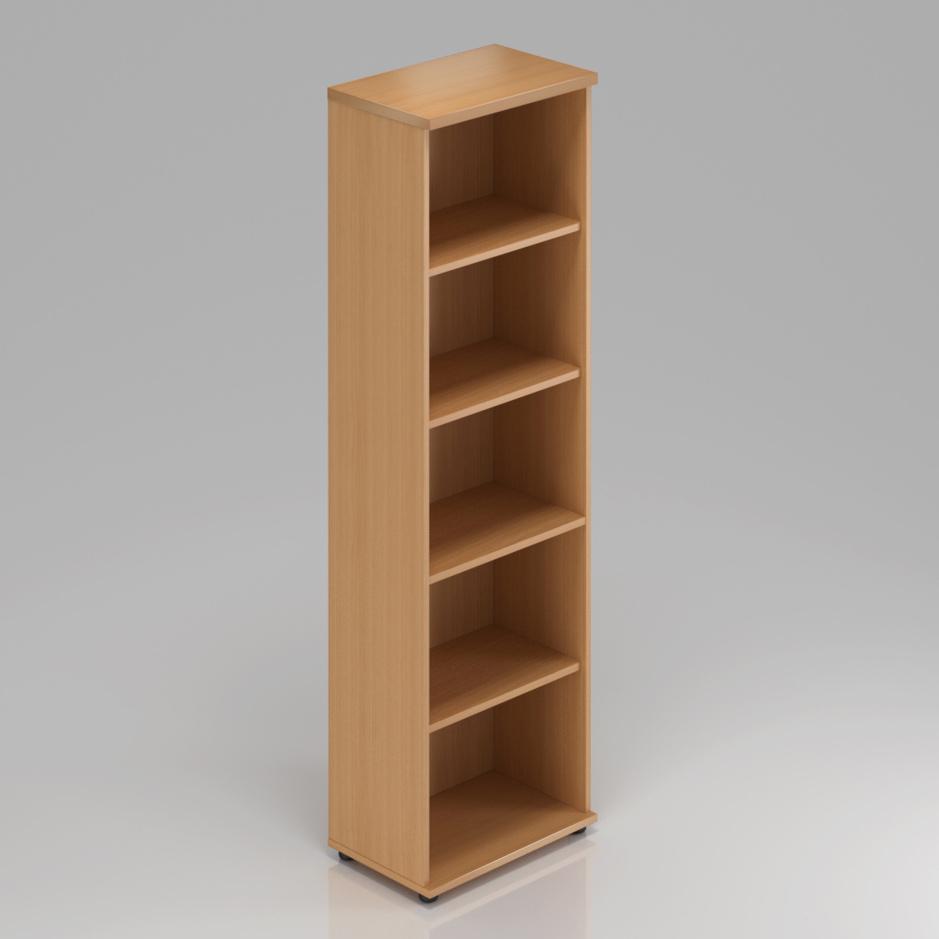 Kancelářský regál Komfort, 40x38,5x183,5 cm, bez dveří  - S540 11