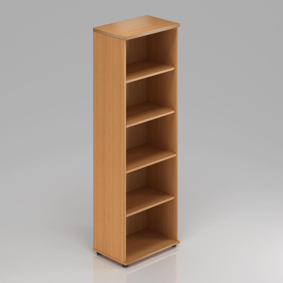 Kancelářská skříň Komfort, 60x38,5x183,5 cm, bez dveří  - S560 11