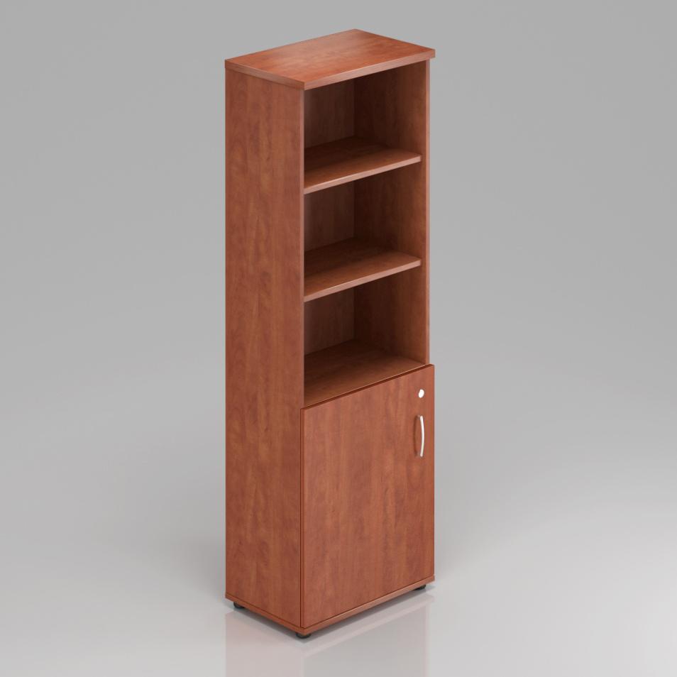 Kancelářská skříň Komfort, 60x38,5x183,5 cm, dveře 2/5  - S562 03