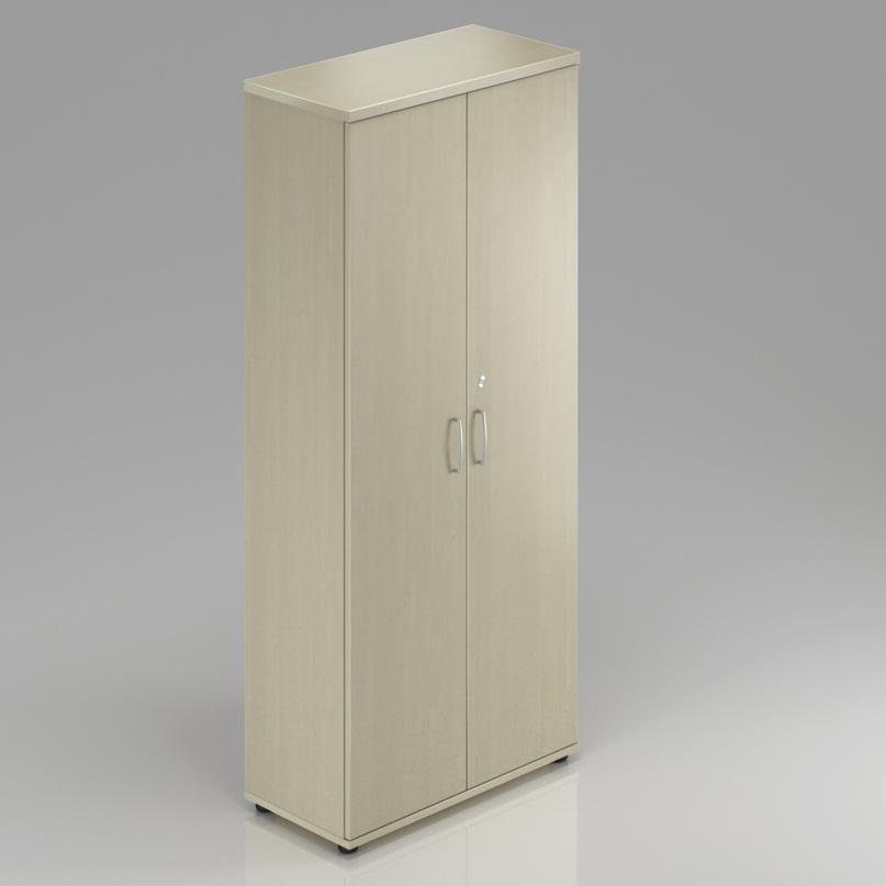 Kancelářská skříň šatní Komfort, 80x60x183,5 cm - SU5856 12