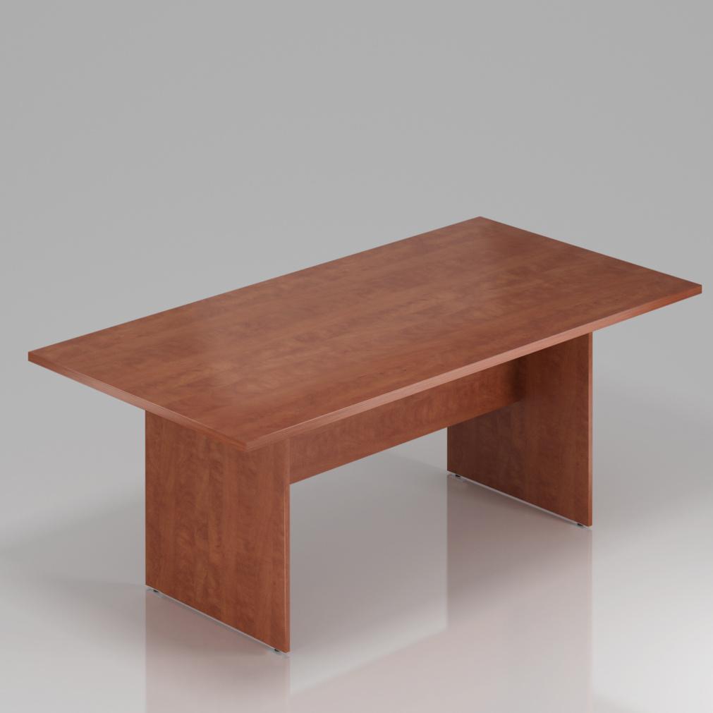 Konferenční stůl Komfort, dřevěná podnož, 140x70x76 cm - SKA24 03