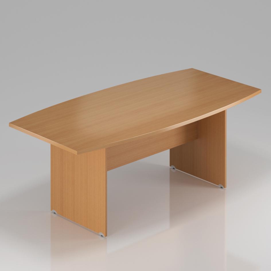 Konferenční stůl Komfort, dřevěná podnož, 200x100x76 cm - SKA33 11