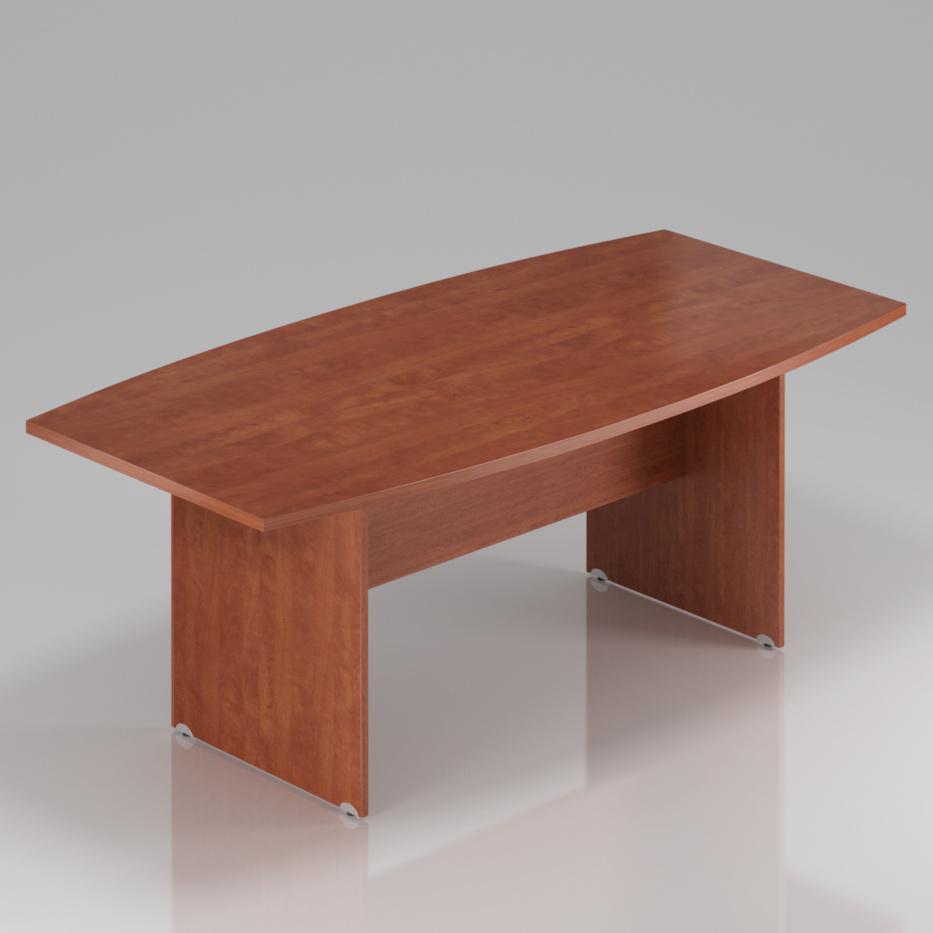 Konferenční stůl Komfort, dřevěná podnož, 200x100x76 cm - SKA33 03