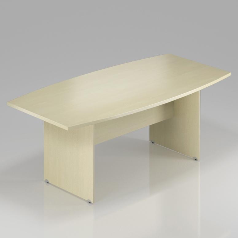 Konferenční stůl Komfort, dřevěná podnož, 200x100x76 cm - SKA33 12