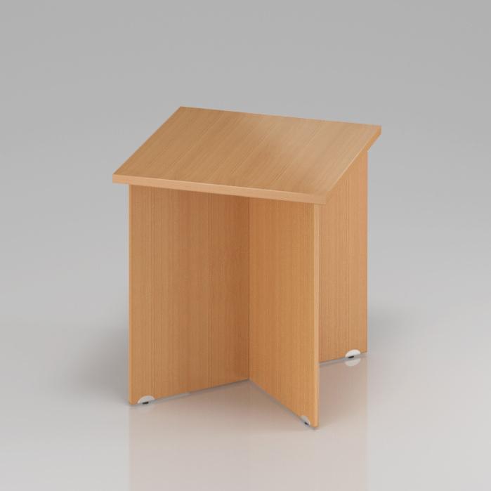 Konferenční stůl Komfort, dřevěná podnož, 70x70x76 cm - SKA34 11