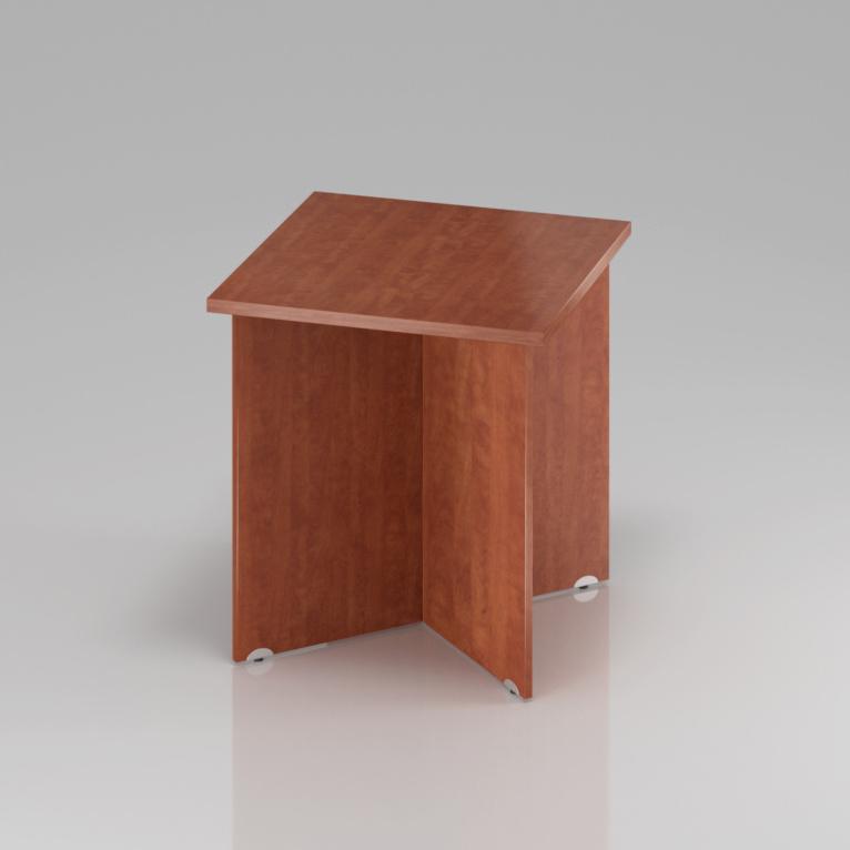 Konferenční stůl Komfort, dřevěná podnož, 70x70x76 cm - SKA34 03