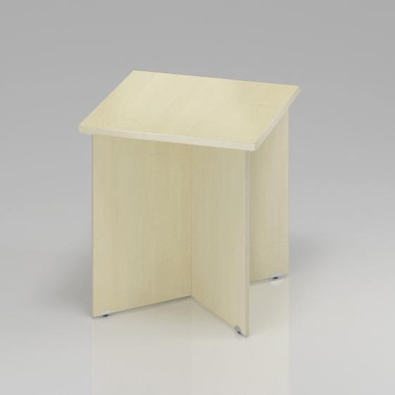 Konferenční stůl Komfort, dřevěná podnož, 70x70x76 cm - SKA34 12