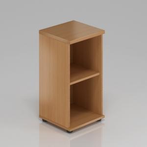 Kancelářská skříň nástavbová Komfort, 40x38,5x75 cm, bez dveří - SN240 11