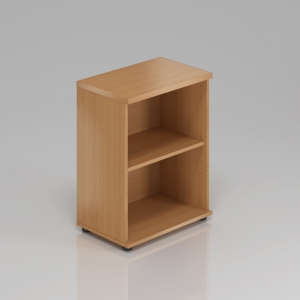 Kancelářská skříň nástavbová Komfort, 60x38,5x75 cm, bez dveří - SN260 11