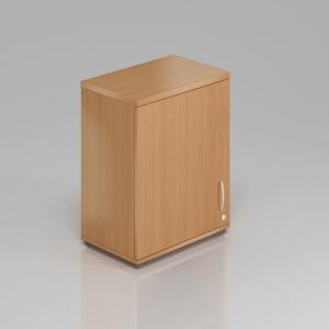 Kancelářská skříň nástavbová Komfort, 60x38,5x75 cm, dveře 2/2 - SN262 11