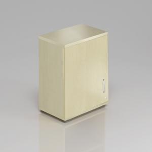 Kancelářská skříň nástavbová Komfort, 60x38,5x75 cm, dveře 2/2 - SN262 12