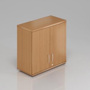 Kancelářská skříň nástavbová Komfort, 80x38,5x75 cm, dveře 2/2 - SN282 11