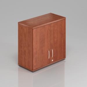 Kancelářská skříň nástavbová Komfort, 80x38,5x75 cm, dveře 2/2 - SN282 03